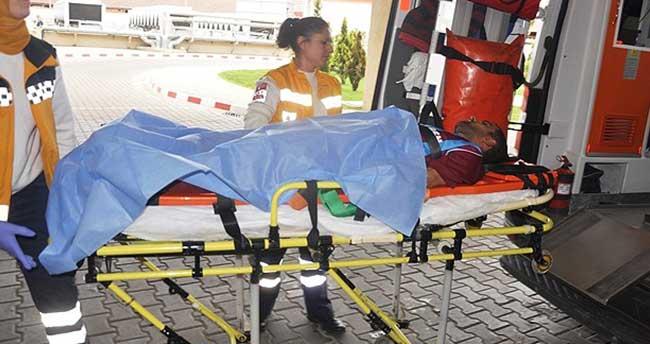 Futbolcu maç sırasında kalp krizi geçirdi