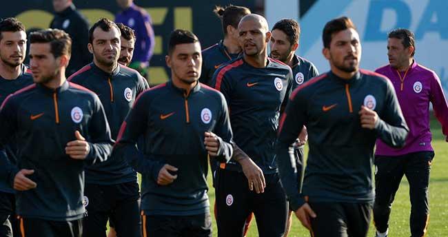 Galatasaray, Manisaspor maçı hazırlıklarını tamamladı
