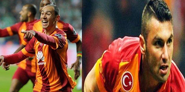 Galatasaray'ın bitirim ikilisi