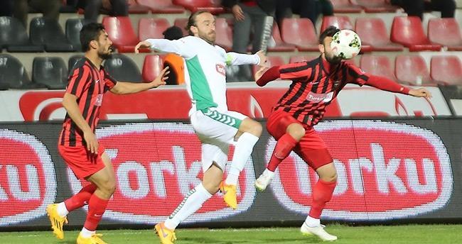 Gaziantepspor – Torku Konyaspor: 1-1