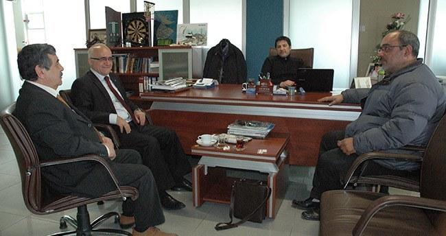 Gönen'den Yeni Meram Gazetesi'ne ziyaret