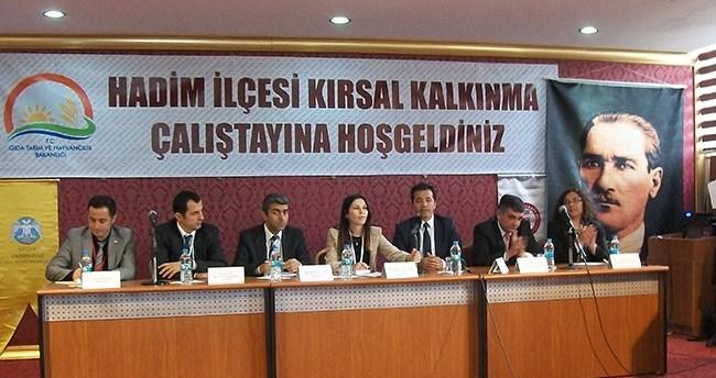 Hadim'de Kırsal Kalkınma Çalıştay'ı düzenlendi
