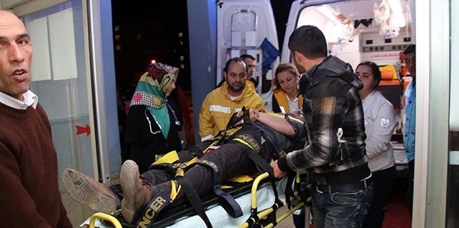 Hareket halindeki trenden atlayan 2 kardeşten biri yaralandı