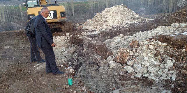 Hüyük'te jeotermal su çalışmaları başlatıldı