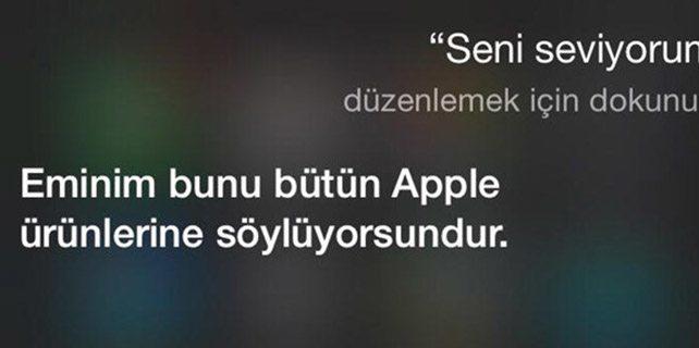 iphone asistanı Türkçe Siri'nin güldüren capsleri