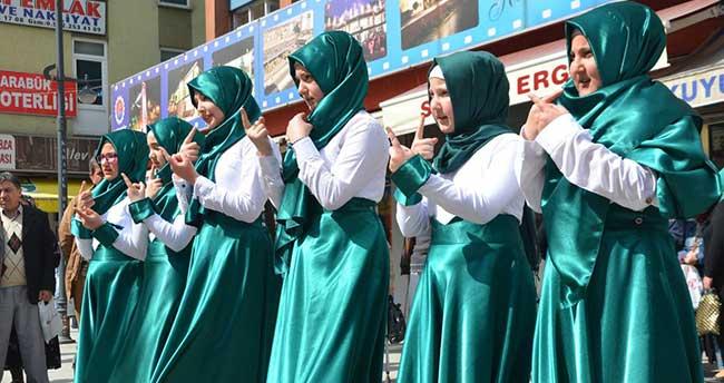 İşaret diliyle Kutlu Doğum Haftası etkinliği