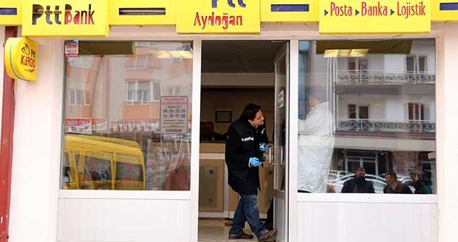 Kar maskeli soyguncu 10 bin lirayı bıraktı bozuk paraları aldı