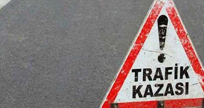 Karaman'da devrilen motosikletin sürücüsü öldü