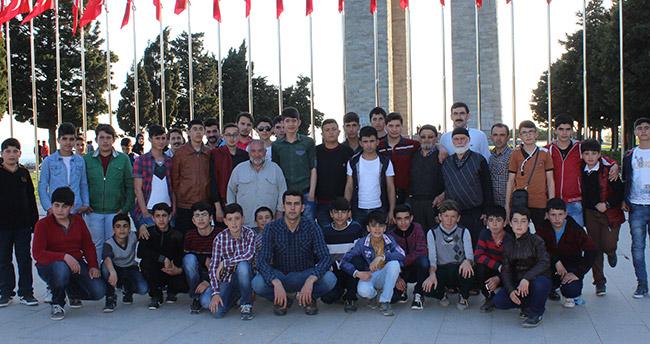 Karapınarlı öğrenciler Çanakkaleyi gezdi