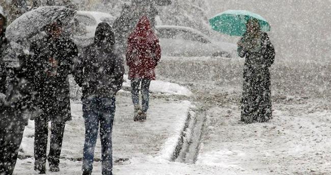 Konya ve çevresine kar uyarısı