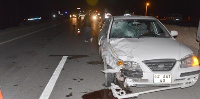 Konya'da feci kaza: 2 ölü