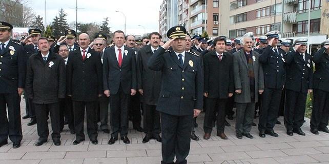 Konya'da Polis Teşkilatının Kuruluşunun 170. Yılı Kutlandı