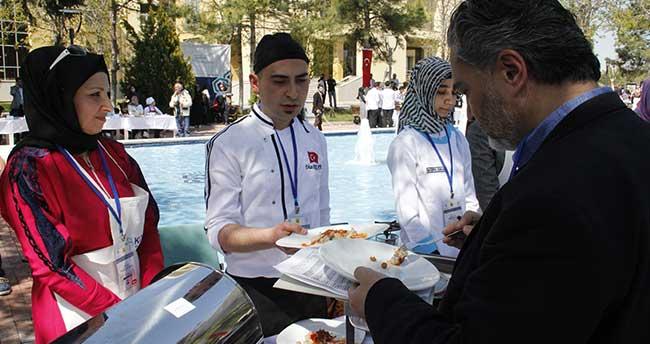 Konya'da Selçuklu yemekleri yarıştı