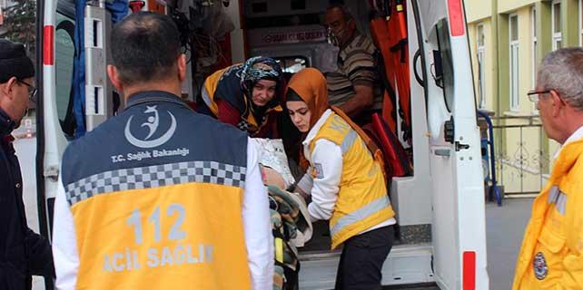 Konya'da yaşlı çift sobadan sızan gazdan zehirlendi