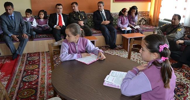 Kulu'da okuma salonu açılışı