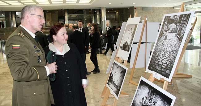 Litvanya Parlamentosu'nda İstanbul fotoğrafları sergisi açıldı