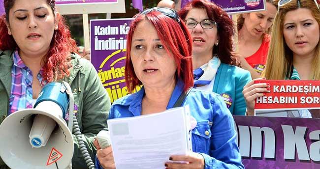Manisa'da, kadın cinayetleri protesto edildi