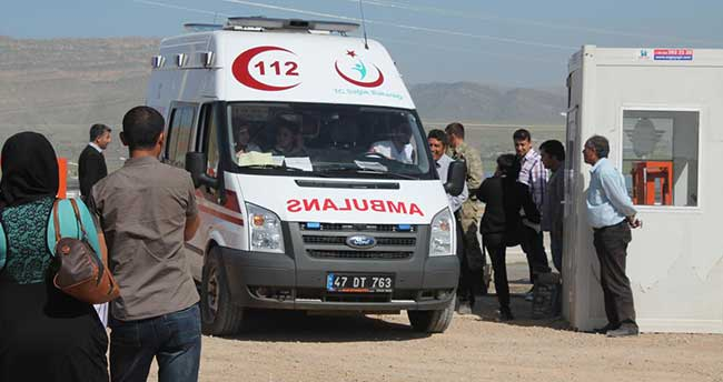 Mardin'de Suriyeli gerginliği