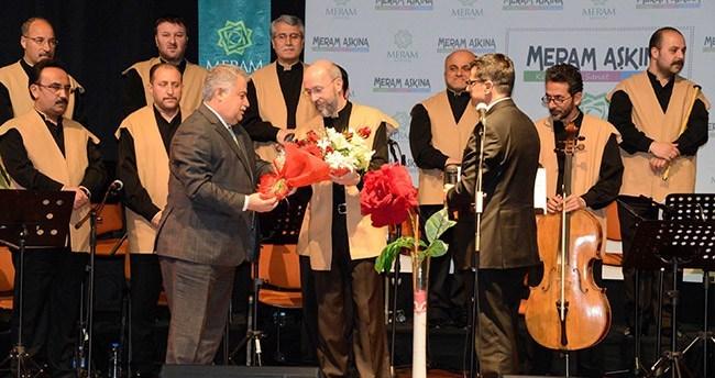 Meram'da kutlu doğum özel konseri icra edildi