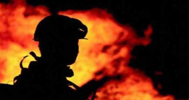 Muğla'da ev yangını