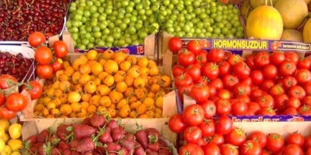 Olumsuz hava şartları sebze ve meyve fiyatlarını yükseltti