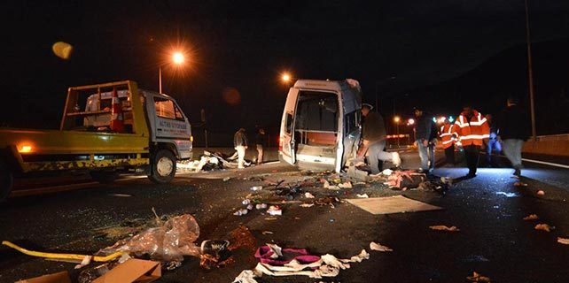Osmaniye'de trafik kazası: 6 ölü