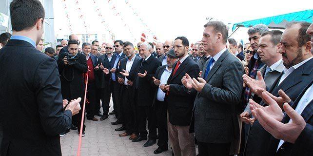 Osmanlı Sancağı Tarım'ın yeni işyeri törenle açıldı