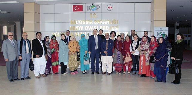 Pakistan heyeti Konya'da