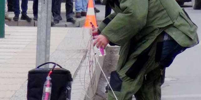 Reyhanlı'da 'bomba' alarmı