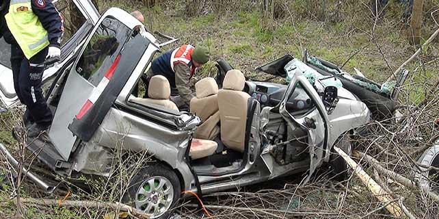 Sakarya'da trafik kazası: 4 ölü, 4 yaralı