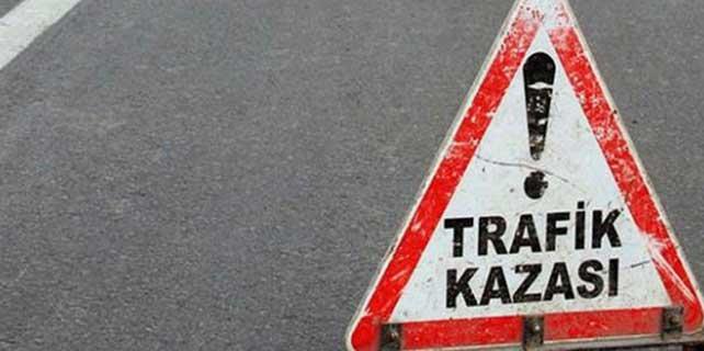 Salihli'de traktör devrildi: 1 ölü