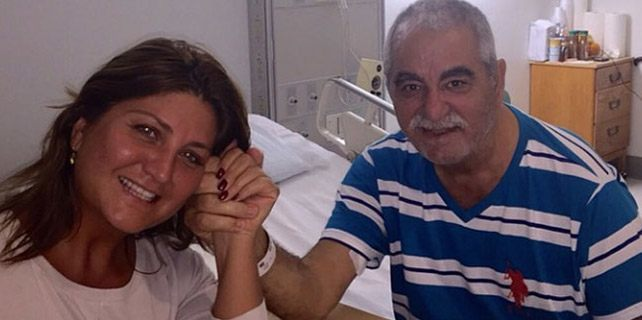 Sibel Can'dan İbrahim Tatlıses'e ziyaret