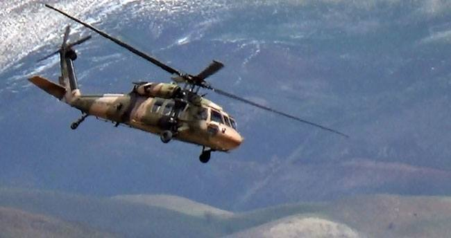 Sınır birliklerine havadan sevkiyat