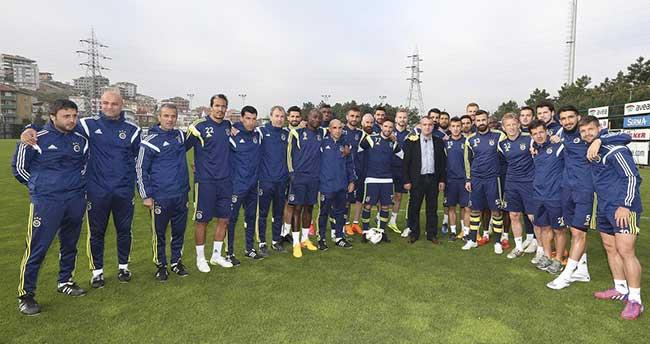 Şoför Ufuk Kıran'dan Fenerbahçe'ye ziyaret