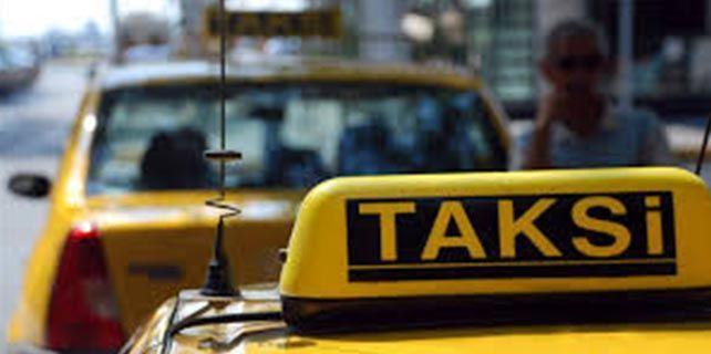Taksilerde güvenlik kameralı dönem