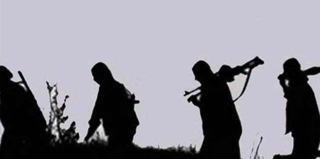 Teröristler güvenlik güçlerine ateş açtı
