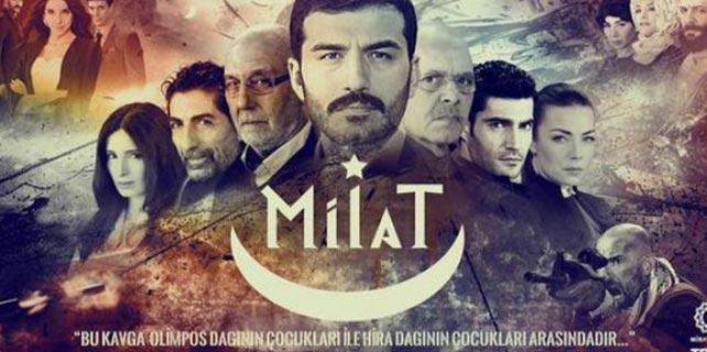 TRT'nin Milat dizisi hızlı başladı