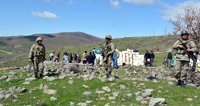 """Tunceli'de """"toplu mezar"""" iddiası"""
