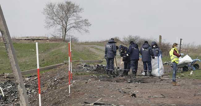 Ukrayna'da düşen yolcu uçağı