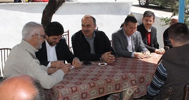 Vali Erol Derbent'i ziyaret etti