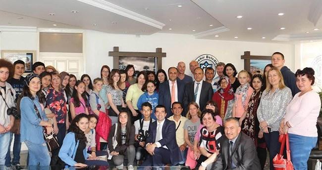 Yabancı öğrencilerden Beyşehir belediyesi'ne ziyaret