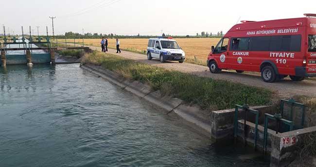 Adana'da kanala giren Suriyeli boğuldu, kuzeni kayboldu