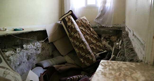Adıyaman'da evin tabanı çöktü: 6 yaralı