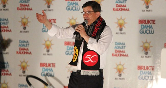 Ahmet Davutoğlu, Eskişehir Havalimanı'nın yeni ismini açıkladı