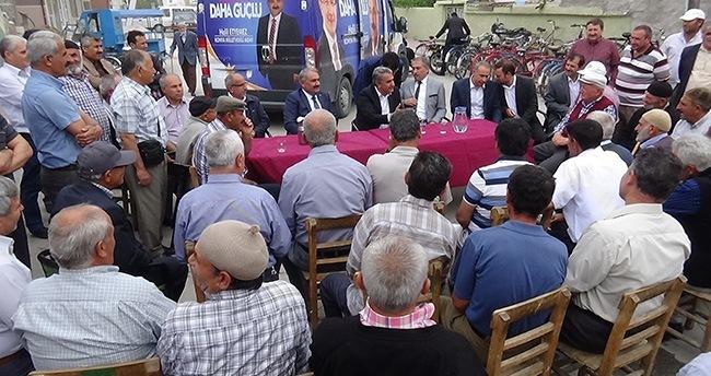 AK Parti Ereğli'de seçim çalışmaları sürüyor