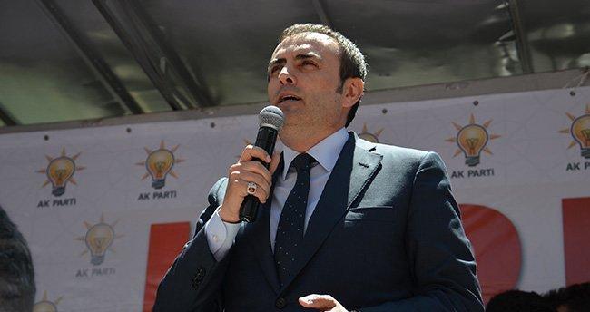 AK Parti Grup Başkanvekili Ünal Bozkır'da