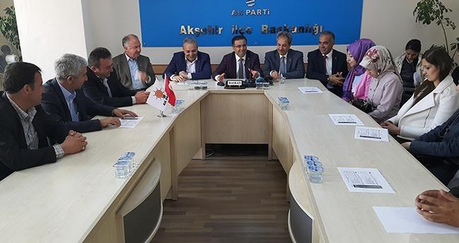 Ak Parti Konya Milletvekili Adayı Ünal Çalışmalarını Sürdürüyor