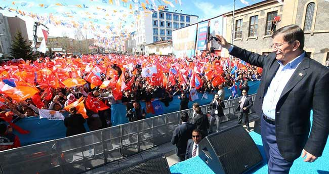 AK Parti'nin Ardahan mitingi