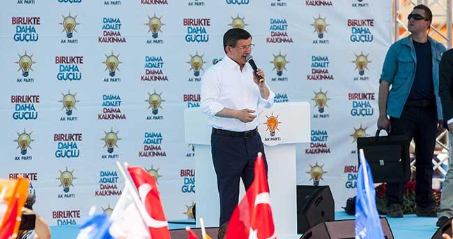 AK Parti'nin Karaman mitingi
