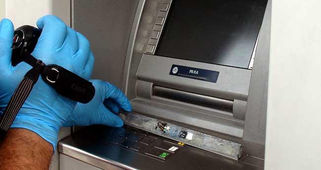 Aksaray'da ATM cihazında dolandırıcılık girişimi